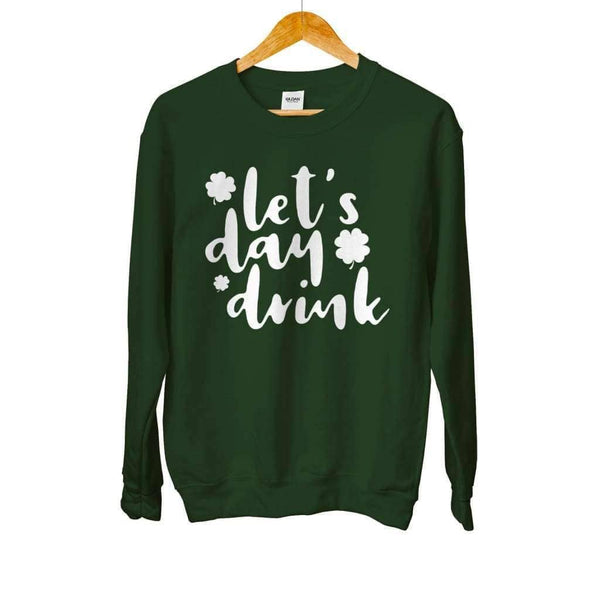 Lets Day Drink Crew Neck - Design