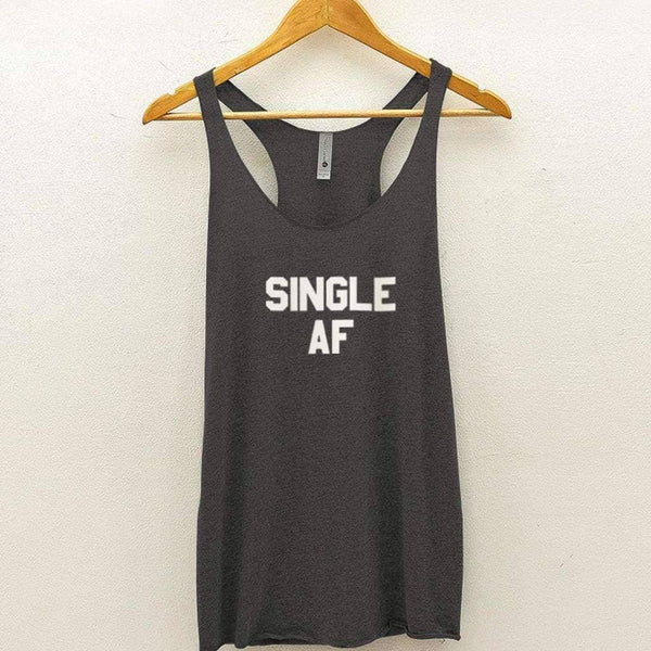 Single AF Tank - Premium Heather / XS - Design