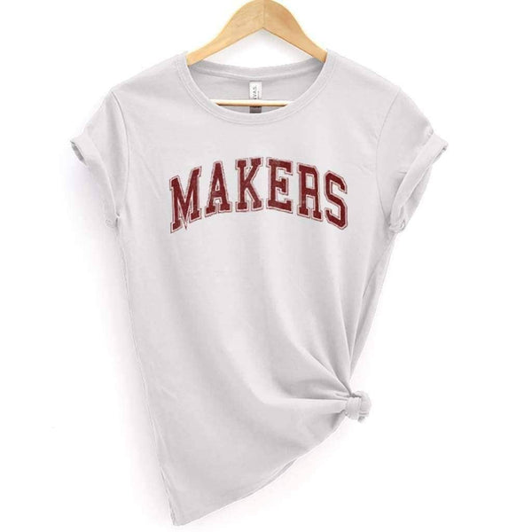 Trouble Makers 2 Tee - White / XS - Design