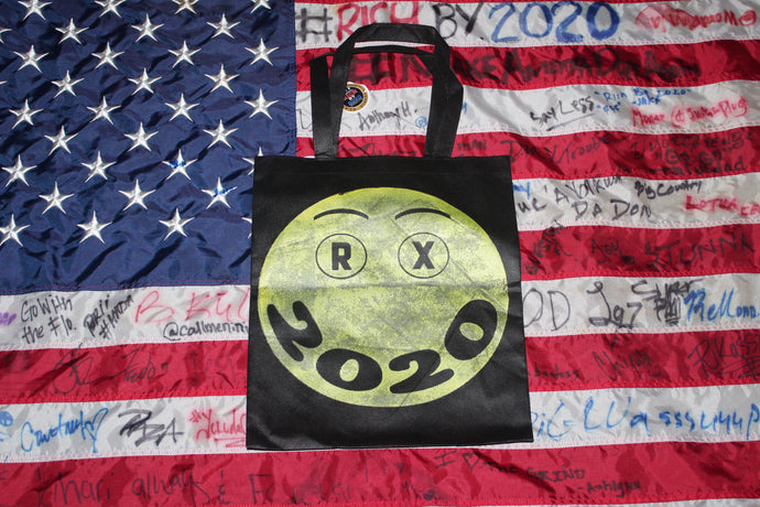 """Big Happy"" Tote Bag  For The Kids 3 FUNDRAISING ITEM #4"