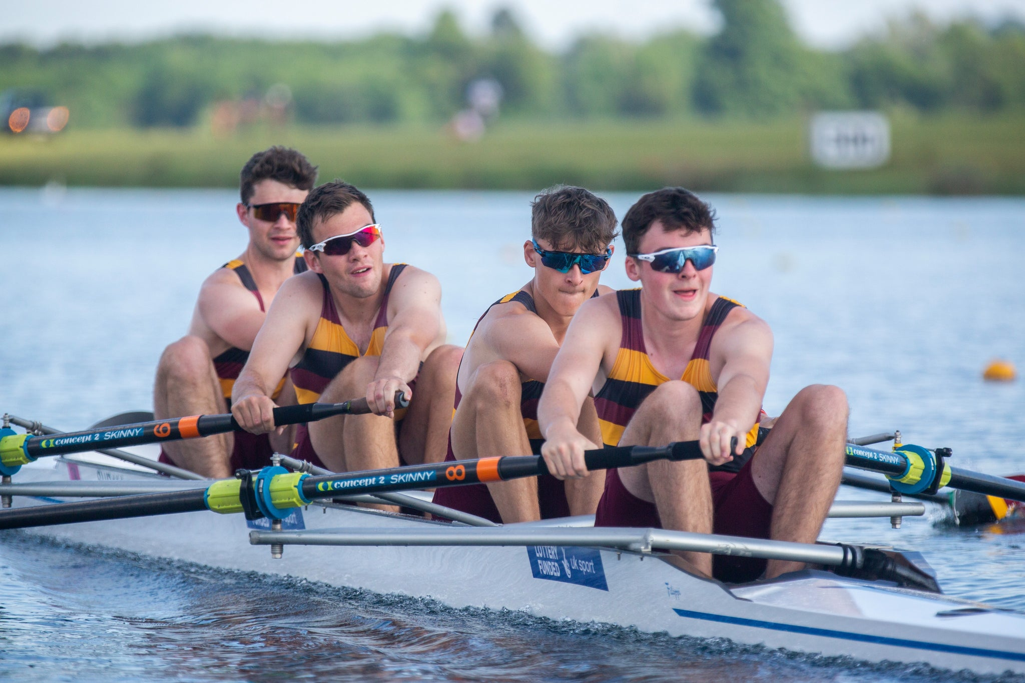 Fours Head 2018: Junior Championship Coxless Fours (JM4-)