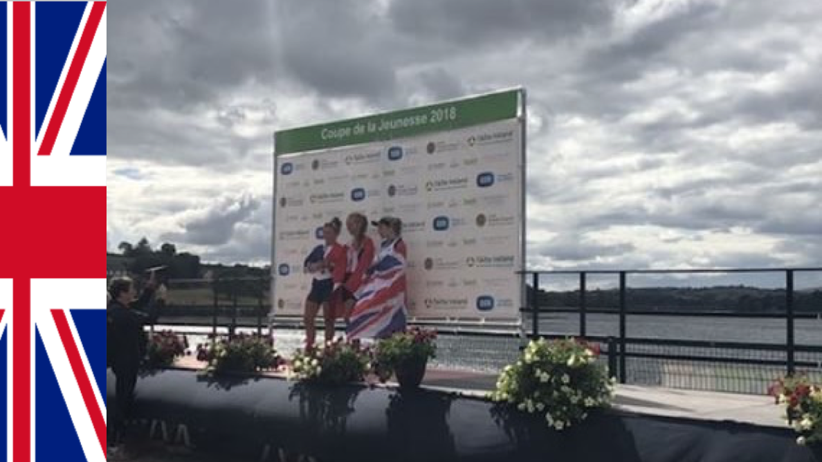 Coupe de la Jeunesse 2018: GB's Junior Women's Sculling
