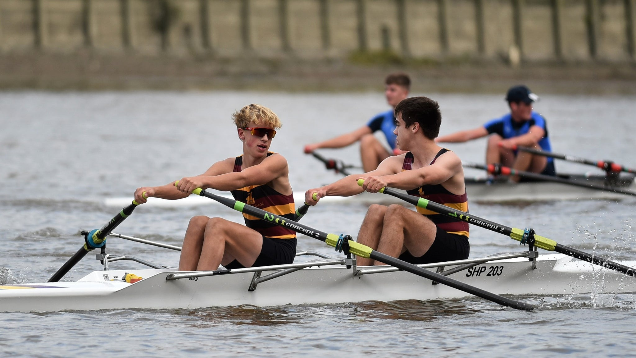 Vesta Scullers' Head 2019: Junior Men
