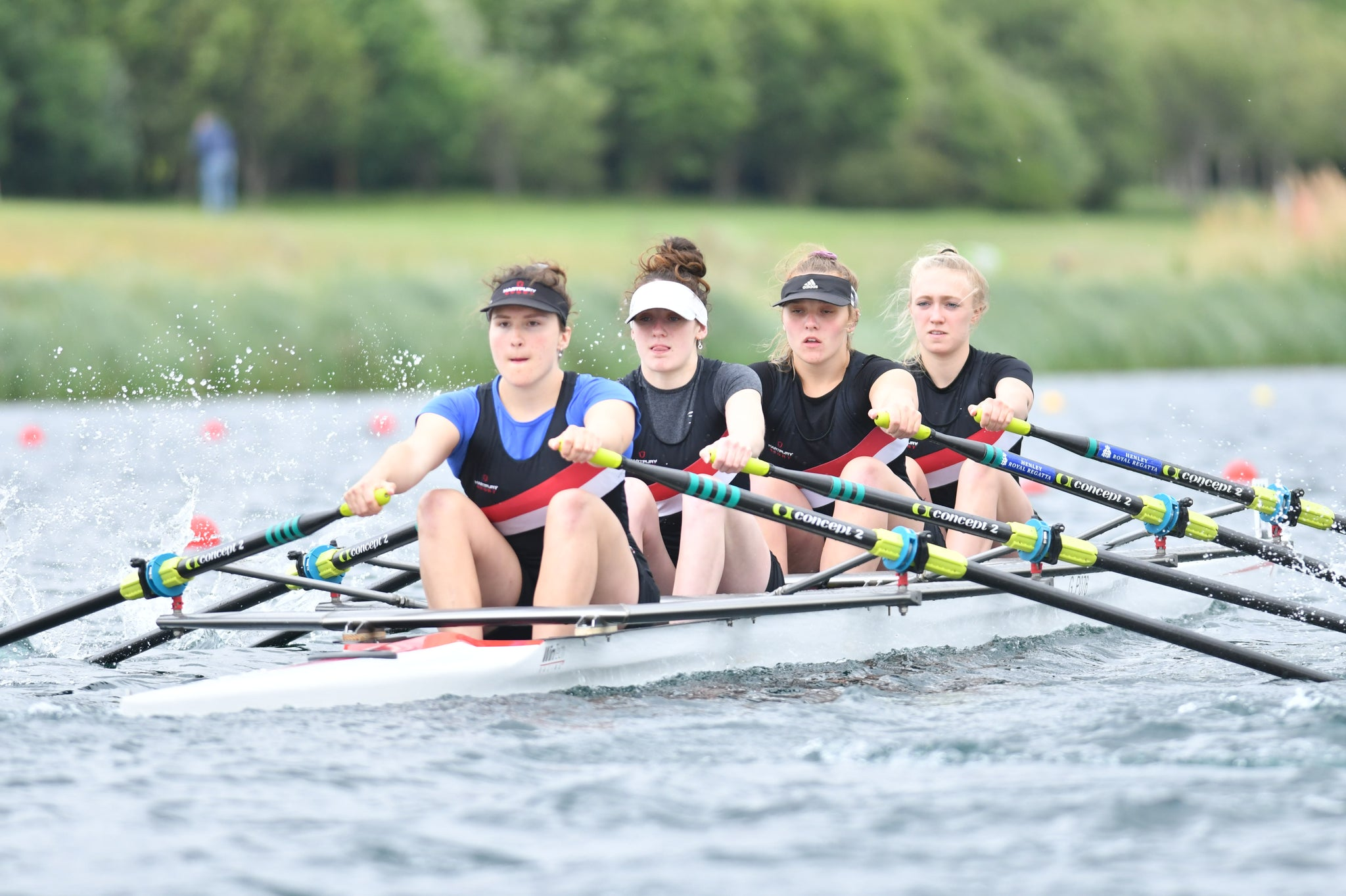 Henley Women's Regatta- J18 Quads