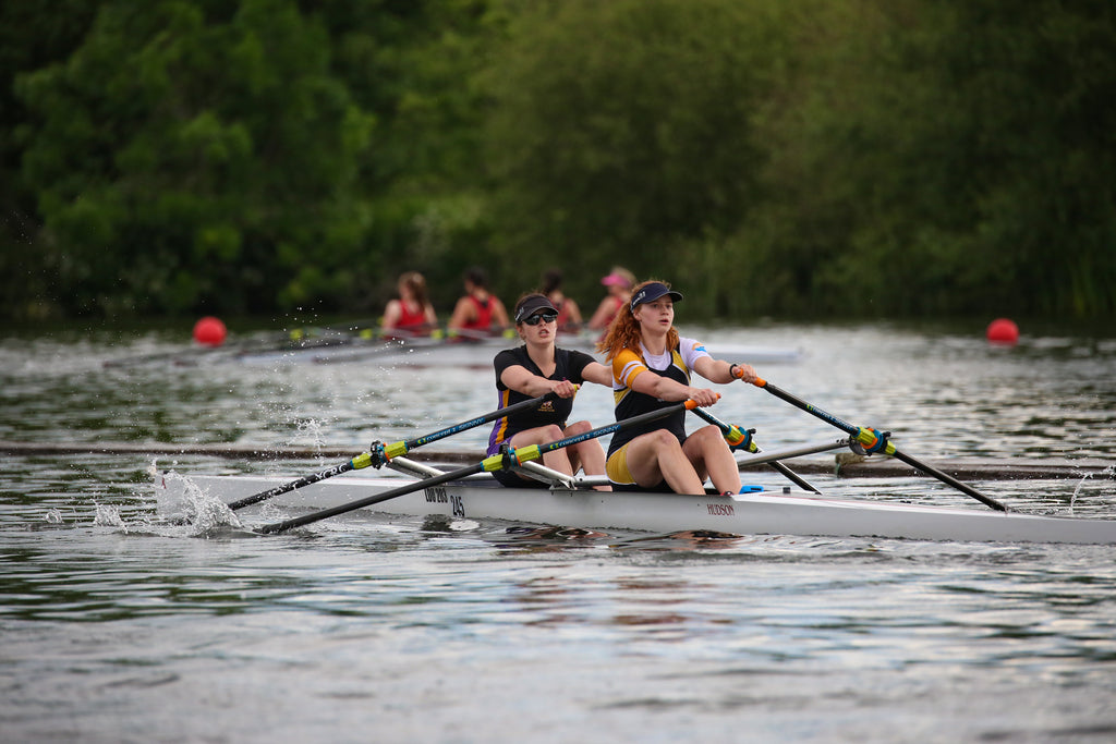 University of York and York City Rowing Clubs racing at Henley Women's Regatta