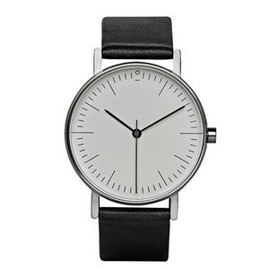 Minimalist Leather Wristwatches