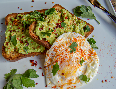 Liteful Foods Avocado Breakfast Toast Photo