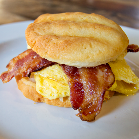 Liteful Foods Biscuit Breakfast Sandwich Recipe
