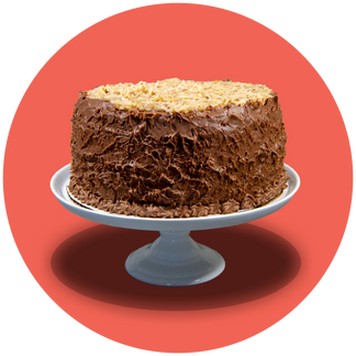 Gluten Free German Chocolate Cake from Liteful Foods