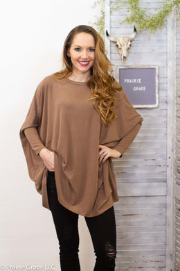Traverse Tunic || Taupe