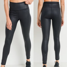Lead Faux Leather Leggings
