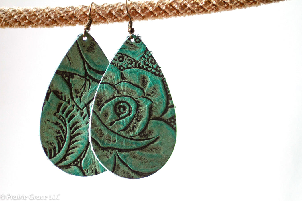Reva Leather Earrings