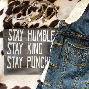 Stay Punchy Toddler/Kids Western Tee
