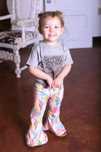 Cactus Toddler Bell Bottoms