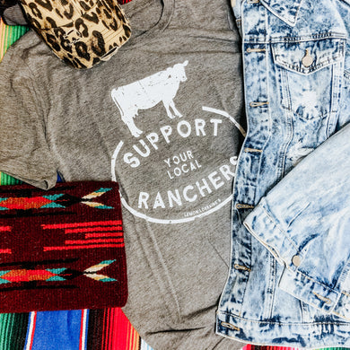 Support Your Local Ranchers Tee