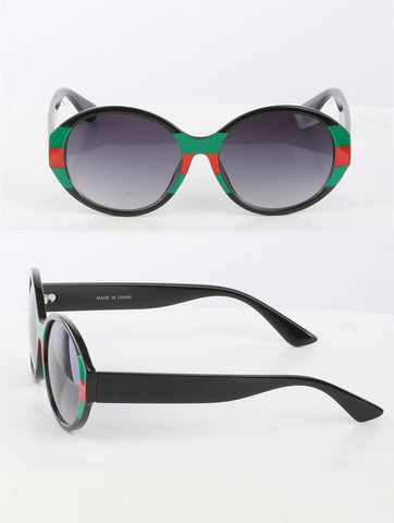 Red and Green Sunglasses