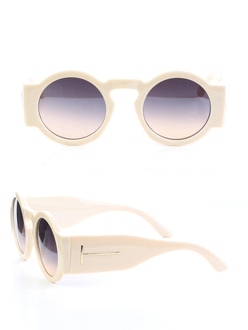 Copy of Simple T Sunglasses (Ivory)
