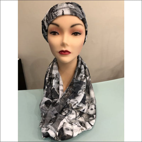 Cover Model Hat & Scarf Set - hat and scarf