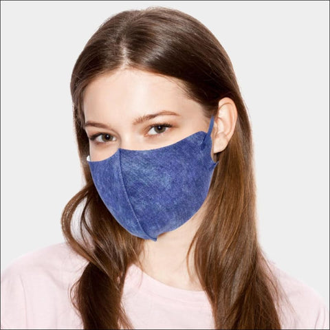 Denim Face Mask - face mask