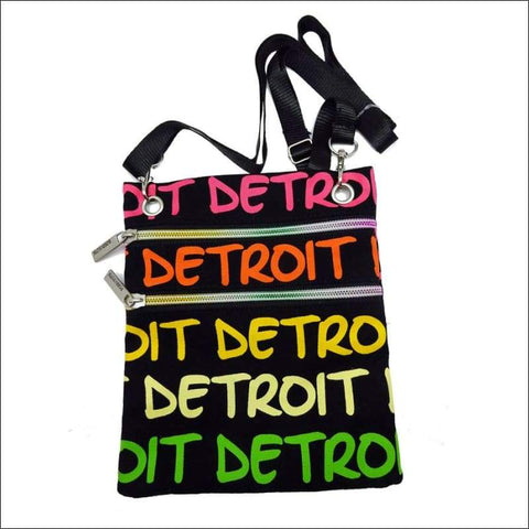 Detroit Neon Cross Body Bag
