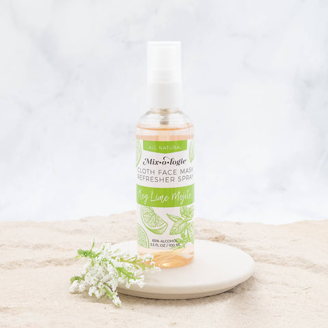 Face Mask Refresher Spray -  Key Lime Mojito Scent