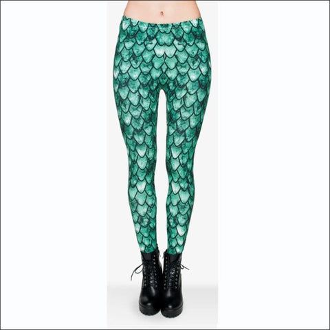Green Dragon Leggings - Leggings