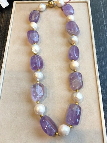 Lilac Luxe Necklace Set