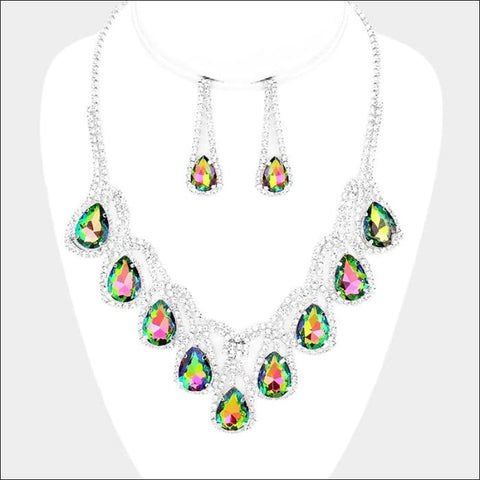 Kaleidoscope Necklace Set - necklace set