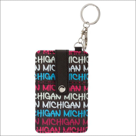 Michigan Card Holder Keychain - card holder
