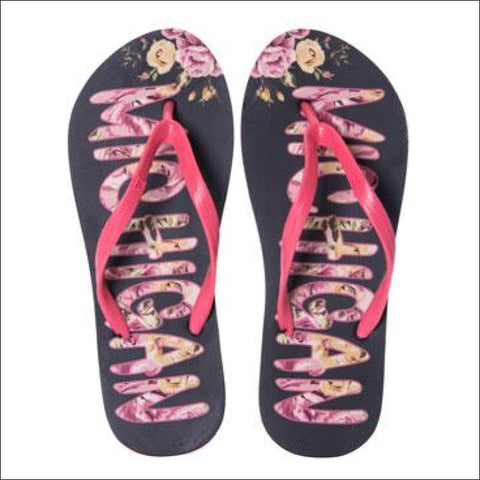 Michigan Flip Flops - flop flops