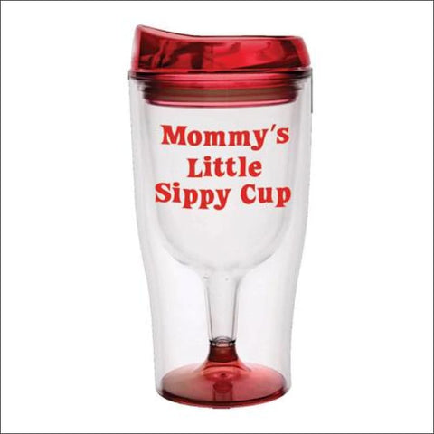 Mommy's Sippy Cup Wine Tumbler - tumbler