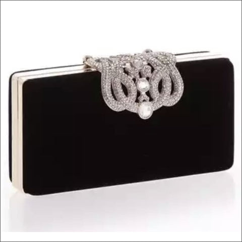 Pearl Clasp Clutch - Evening bag
