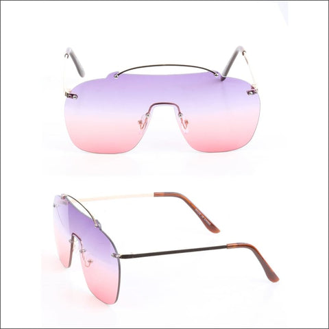 pink and lavender sunglasses