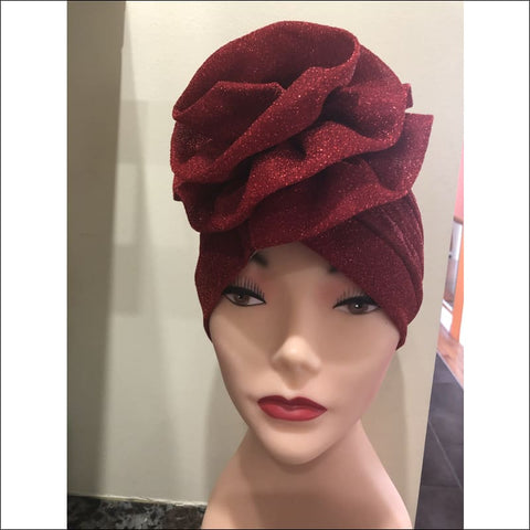 Sparkle Bloom Turban - turban