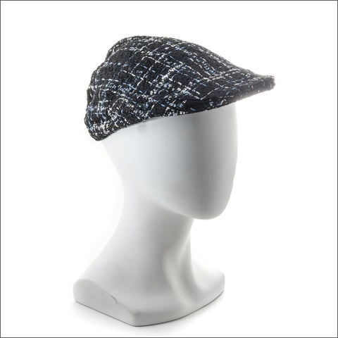 Tweed Page Boy Cap - hat