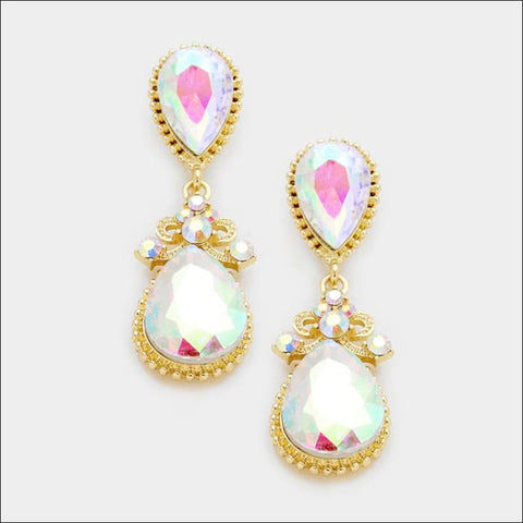 Victoria Teardrop Earring - earrings