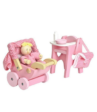 Nursery Doll set for  Doll House