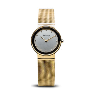 Bering Time Classic Polished Gold Watch | 10126-334