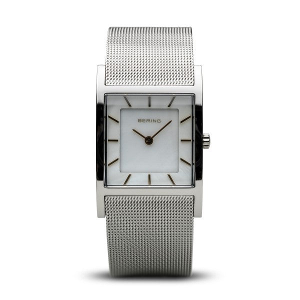 Bering Time Classic Polished Silver Watch | 10426-010