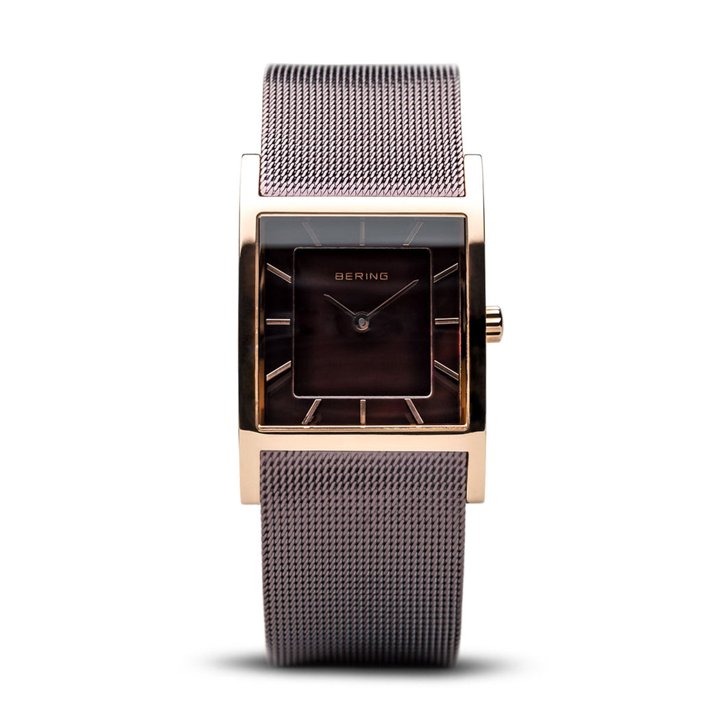 Bering Time Classic Polished Rose Gold Watch | 10426-265