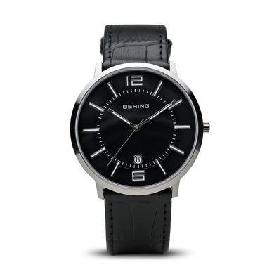 Bering Time Classic Brushed Silver Men's Watch | 11139-409