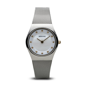 Bering Time Classic Brushed Silver Watch | 11927-004