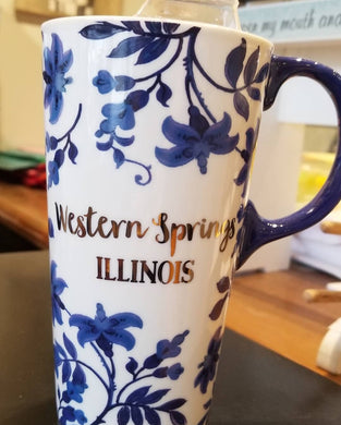 Western Springs Ceramic Travel Mug