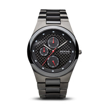 Bering Time Ceramic Brushed Grey Men's Watch | 32339-782