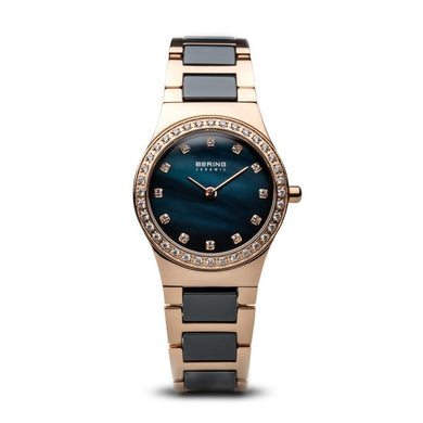 Bering Time Classic Polished Rose Gold Watch | 32426-767