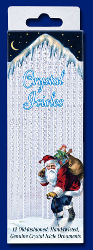 Crystal Icicles 12-pack