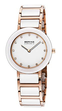 Bering Time Ceramic Polished Rose Gold Watch | 10729-766