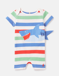 Baby Boy Patch Applique Onesie