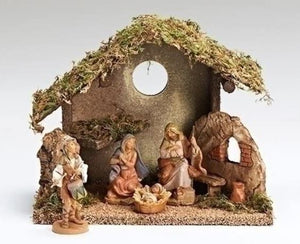 "Fontanini 5""  Nativity  Made in Italy"