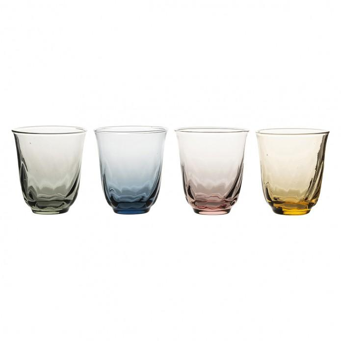 Vienne Assorted Colors Small Tumbler Set/4